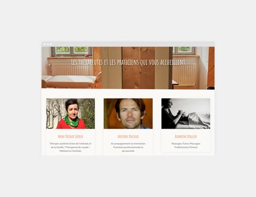 Site WordPress Therapeutes Barral